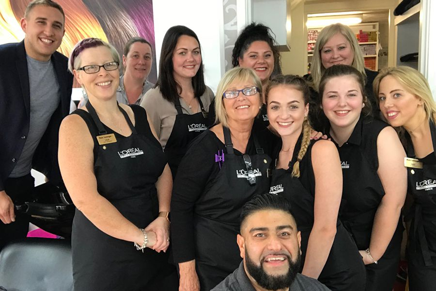 Kelvedon Hairdressers Team